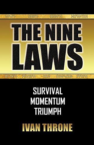 Book cover from The Nine Laws by Ivan Throne