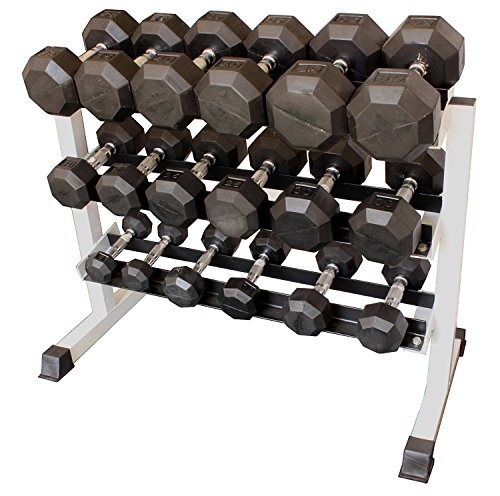 3 Tier 36'' Heavy Duty Dumbbell Rack (Rack Only) by Ader Sporting Goods
