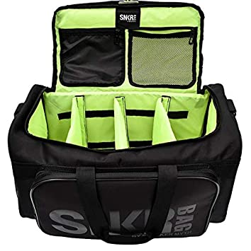e7617c9a5594 Sneaker Bag - Shoe Protection Travel Bag Water Resistant, Multi-Pocket with  Adjustable Inserts and Shoulder Strap, Large Exterior Pocket and Interior  ...