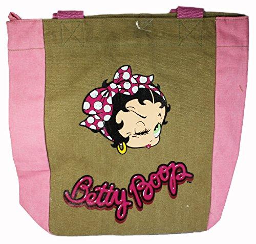 hombro Pink Bolso al mujer Accademia de para Lona Brown 4EqOw0wx