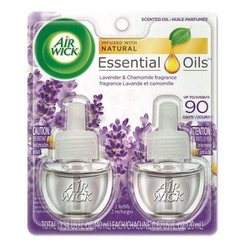 【 新品 】 Air Wick Scented Oil Air Freshener Air Lavender Lavender And Chamomile Freshener、ツインRefills、0.67 Oz B00TBUVZIQ, アイシーテールズ世界の犬雑貨:2c0609f1 --- cygne.mdxdemo.com