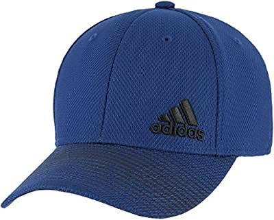 adidas Men's Standard Release Stretch Fit, Real Blue/Black, S/M by adidas