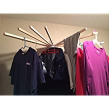 Generic LQ..8..LQ..3292..LQ ounted Mounted Foldable Househ Household Wood Wall le Laundry Clothes dry Clo New Indoor ng Rack Drying Rack US6-LQ-16Apr15-1989