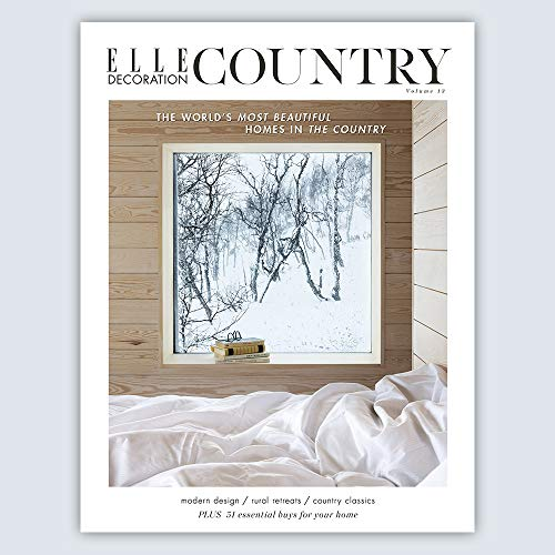 Decoration Elle - ELLE DECORATION COUNTRY VOLUME 13 2019- NEW COPIES EXCLUSIVELY FROM MAGAZINES AND MORE