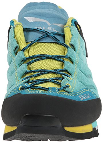 SALEWA Mountain Trainer, Scarpe da Escursionismo Donna Turchese (Bright Acqua/Mimosa 3522)