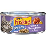 Purina Friskies Gravy Wet Cat Food, Shreds Turkey