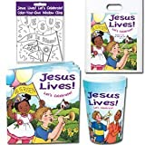 12 Jesus Lives! Let's Celebrate! Easter Party Packs