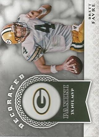 Amazon.com  2017 Panini Decorated  4 Brett Favre Green Bay Packers ... 12e967a4b