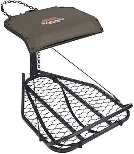Discover Bargain Millennium Treestands M25 Hang-On Tree Stand (Includes SafeLink Safety Line)
