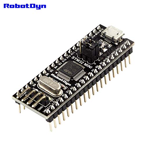 RobotDyn Black Pill - STM32F303CCT6 256KB STM32 ARM Cortex-M4 Minimum System Development Board. (ST firmware, SLD) - $10.97