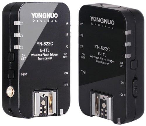 Yongnuo YN-622C Wireless ETTL Flash Trigger Receiver Transmitter Transceiver by Yongnuo