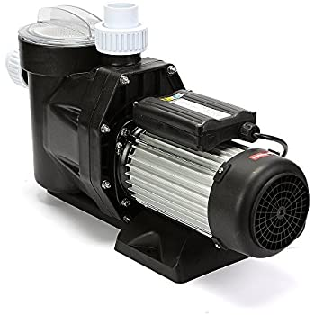 Mophorn Pool Pump Powerful Self Priming Swimming Pool Pump 2.5HP 110V in Ground Pool Pump with Cord Single Speed Strainer High Power Motor