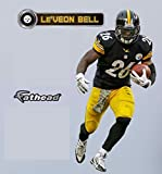 LeVeon Bell FATHEAD Pittsburgh Steelers Official NFL Vinyl Wall Graphic 16'' INCH