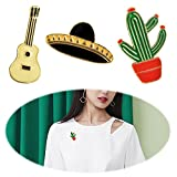 Fashion Cat Pin Rhinestone Brooch Pin Charms Inlaid Crystal Animal Breastpin Women Punk Hat Sweater Pin
