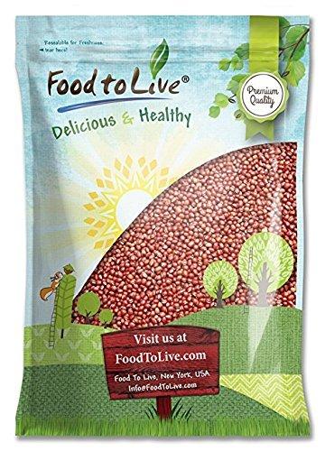 Adzuki Beans by Food to Live (Dried, Bulk) — 5 Pounds