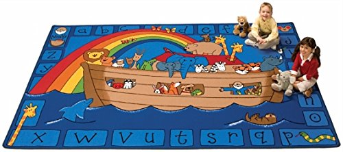 - Noah's Alphabet Animals, 6' x 9'