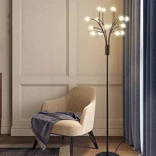 Lvhayon フロアスタンド リビングルームのフロアランプ北欧のミニマル現代のソファ研究ランプベッドルームベッドサイド小枝ボールイン風の垂直ランプ