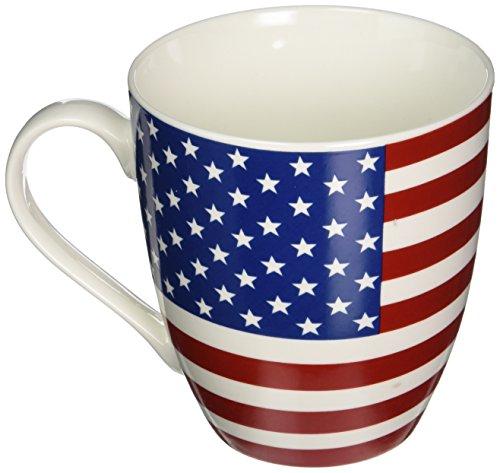 (Pfaltzgraff Patriotic American Flag Coffee Mug.  Large American Flag Coffee Mug - 18 Oz)