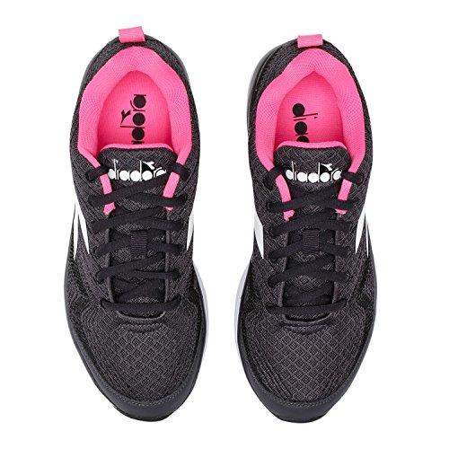 W para Flamingo de Mujer Running Zapatillas Diadora blanco C0641 Negro Xq5TdwOn