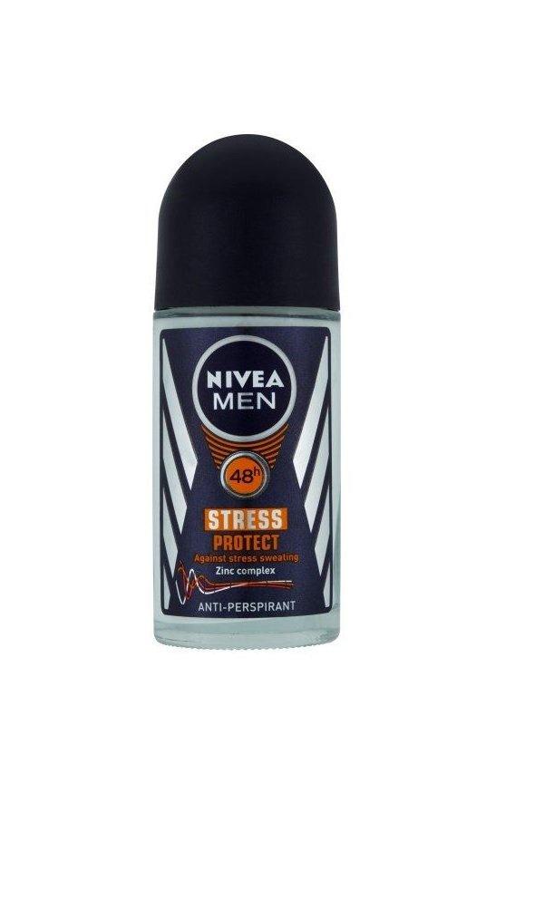 Nivea for Men Antiperspirants Stress Protect Rollon - 1.69 Ounces (Pack of 3) by Nivea
