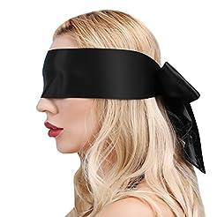 UTIMI SM Blindfold Fetish Eye Mask SM Bo...
