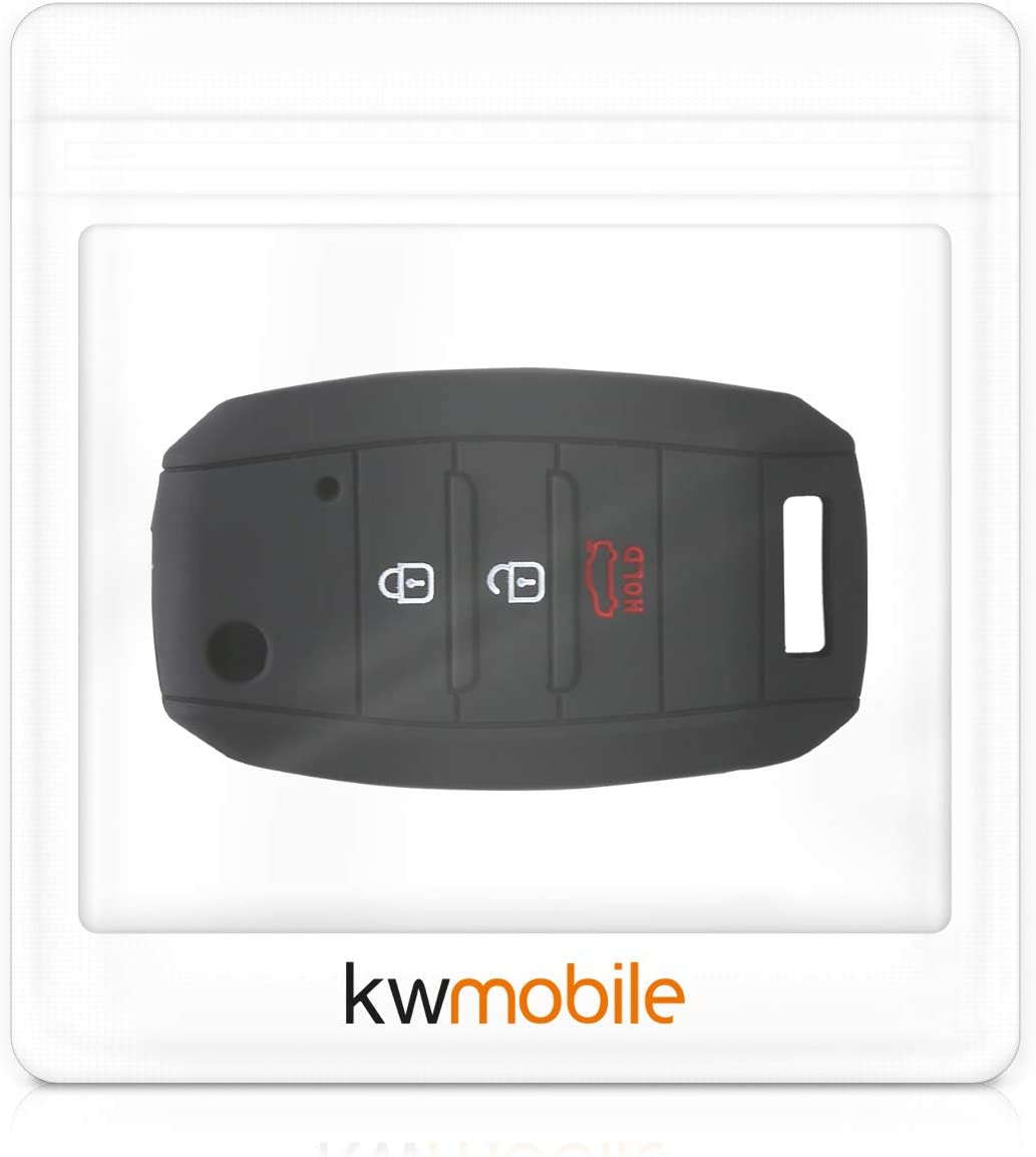 kwmobile Car Key Cover Compatible with Kia Motor Club
