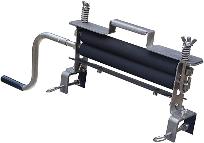 The Solid Stainless Steel Industrial Model, Wisemen Hand Clothes Wringer, Car Detailers, Washing Services, Made In USA