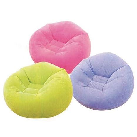 Pleasing Amazon Com Beanless Bag Chair Inflatable Beanbag Home Dailytribune Chair Design For Home Dailytribuneorg