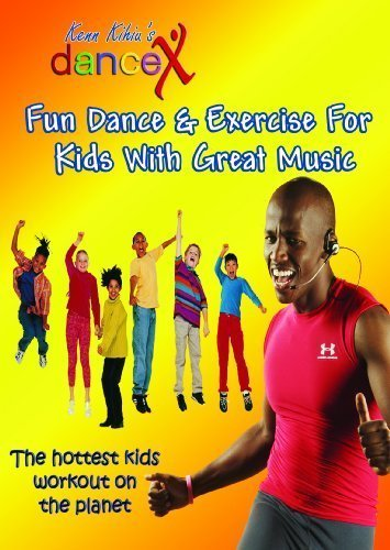 DanceX: Fun Dance & Exercise DVD For Kids With Great Music | Ultimate Indoor Fitness and Workout Video For - Kids Learn Dance