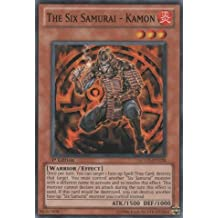 Yu-Gi-Oh! - The Six Samurai - Kamon (LCGX-EN228) - Legendary Collection 2 - 1st Edition - Common by Yu-Gi-Oh!