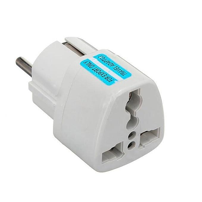 Universal Reiseadapter Netzstecker-Adapter Reise-Konverter US UK zu EU (DE) Anschluss, Reisestecker / Travel Plug / Adapter P