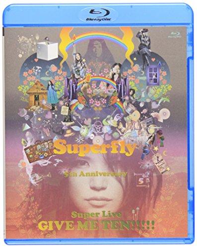 Superfly - Give Me Ten!!!!! [Japan BD] WPXL-90059