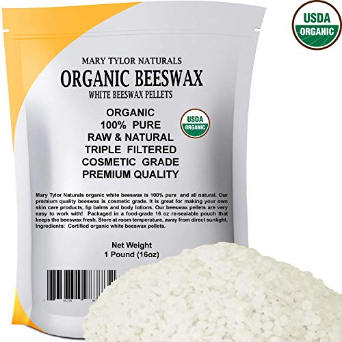 White Beeswax Pellets 1