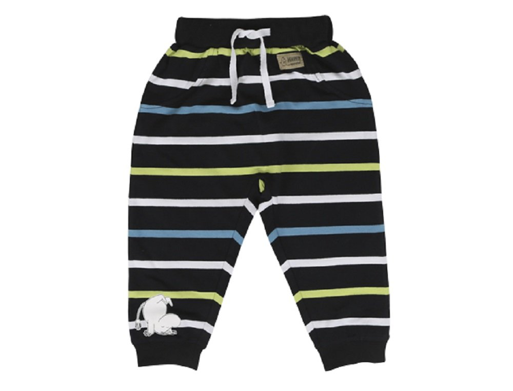 Moomin Happy Jump - New Born - Baby - Boys - Girls - Pants - Solid Trousers - Sweatpants (74 - 12-15 month) Martinex