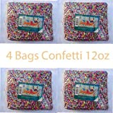 Confetti Multicolor Mexican Confetti 4-bag of 12oz (350g) Each