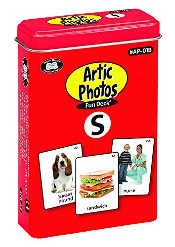 Super Duper Publications Set of 10 Articulation Photo Flash Cards Fun Decks (Combo Set One) - New Revised Color Photos Educational Learning Resource for Children by Super Duper Publications (Image #1)