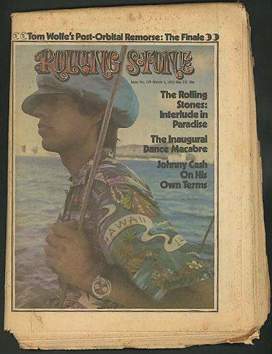 ROLLING STONE Johnny Cash Stones Tom Wolfe 3/1 1973