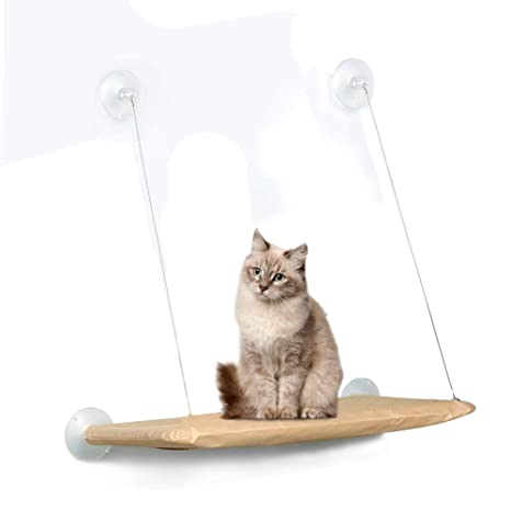 Hamaca de Descanso de la Percha de la Ventana del Gato Cama de Seguridad del Gatito ...