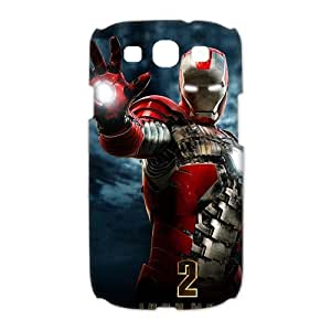 Custom Iron Man Hard Back Cover Case for Samsung Galaxy S3 CL517 by runtopwell
