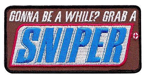 Grab-A-Sniper-Snickers-Bar-Tactical-Morale-HookLoop-Patch