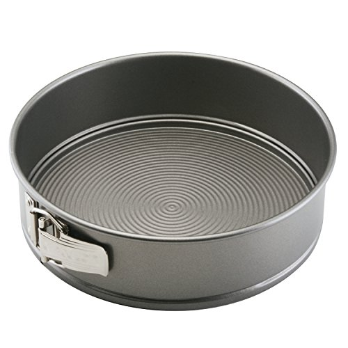Circulon Nonstick Bakeware 9-Inch Springform Pan, Gray