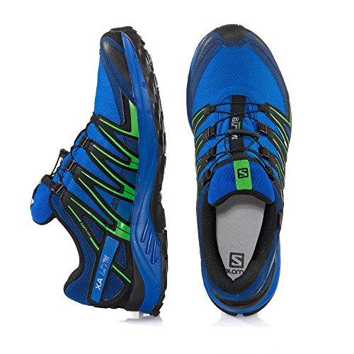 Salomon Xa Lite Gtx, Zapatillas de Trail Running para Hombre Azul (Nautical Blue/Blue Depths/Classic Green)