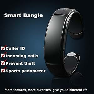ARBUYSHOP nueva pulsera elegante reloj pulsera Bluetooth, pulsera podómetro, auto-conversación teléfonos Android puede enchufar los auriculares de la música