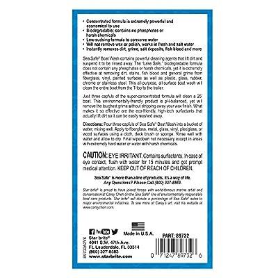 Star brite Sea Safe Biodegradable Boat Wash Soap, 32 oz