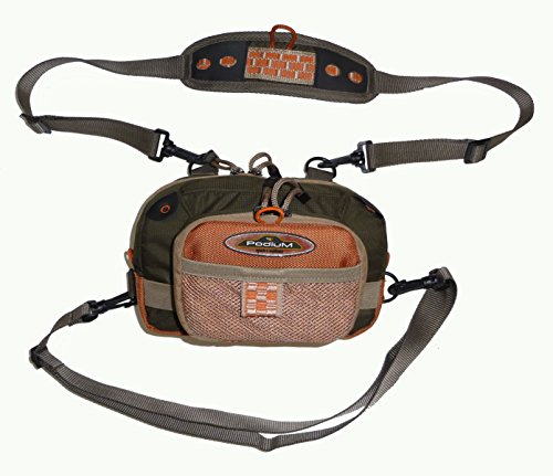 North Star Sports Rainbow Falls Fishing Chest Pack (Vest Prestige Mesh)