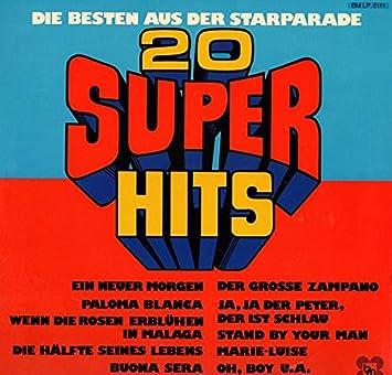 Tina Kirst Fred Karmann Pat Mike Kay James Mit Seiner Bigband 20 Super Hits Die Besten Aus Der Starparade 1975 12 Vinyl Lp Bella Music Bm Lp 5 111 Amazon Com Music