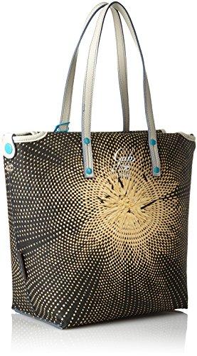 Studio M Paglia Gabs Rose Women's 298 Shopping Multicolour Bag Tg Print amp; 6wxXqx45