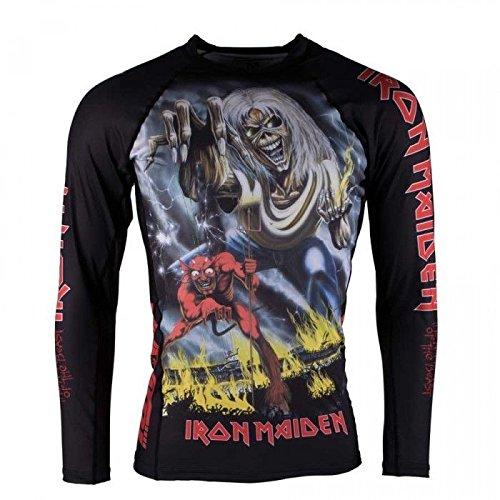 Tatami x Iron Maiden Number of the Beast Long Sleeve BJJ Rashguard - Medium by TATAMI