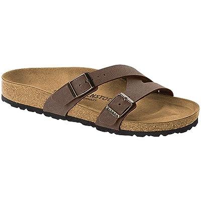 Birkenstock Women's Yao Leather Sandal | Slides