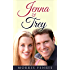 Jenna and Trey: Christian Romance (Cathedral Hills Book 1)